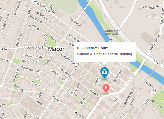 Macon Map